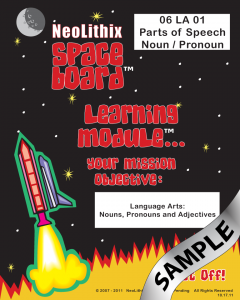 Sample 6th Grade Language Arts Parts of Speech- Noun & Pronoun
