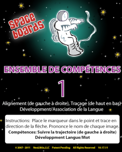 French Edition Astronaut Series A-01 Tracking & Tracing