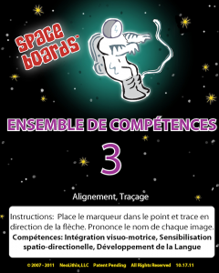 French Edition Astronaut Series A-03 Tracking & Tracing