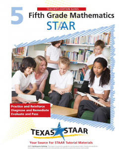 Texas STAAR 5th Grade Math Teacher Manual
