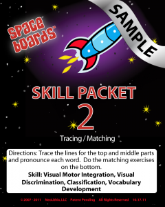 Sample Rocket Series R-02 Tracing & Matching