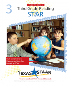 Texas STAAR 3rd Grade Reading Student Workbook 1 w/Answers