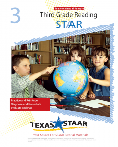 Texas STAAR 3rd Grade Reading Teacher Manual Sample