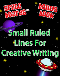 Free Bonus Book Small Ruled Lines for Creative Writing