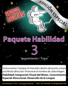 Spanish Special Edition Astronaut Series A-03 Tracking & Tracing