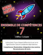 French Edition Rocket Series R-07 Numerals & Counting