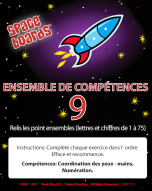 French Edition Rocket Series R-09 Alpha, Numeral, Word Development
