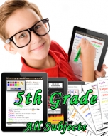 Fifth Grade Bundle: Math, Science, Social Studies and Language Arts