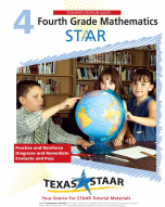 Texas STAAR 4th Grade Math Teacher Manual