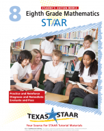 Texas STAAR 8th Grade Math Student Workbook Book 2