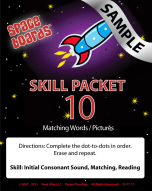 Sample Rocket Series R-10 Matching Words & Pictures