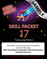Sample Rocket Series R-17 Tracing Large Pictures