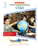 Texas STAAR 3rd Grade Reading Student Workbook
