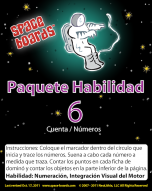 Spanish Edition Astronaut Series A-06 Numbers & Counting