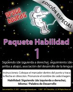 Spanish Special Edition Astronaut Series A-01 Tracking & Tracing