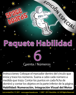 Spanish Special Edition Astronaut Series A-06 Numbers & Counting