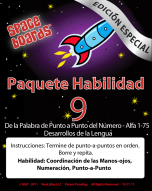 Spanish Special Edition Rocket Series R-09 Alpha, Numeral Word Development