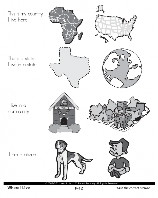 citizenship in the community worksheet