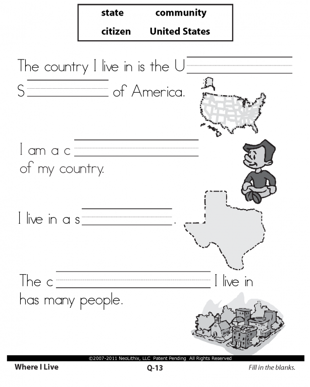 1st Grade Citizenship Worksheets In Addition Good Citizen Worksheets ...