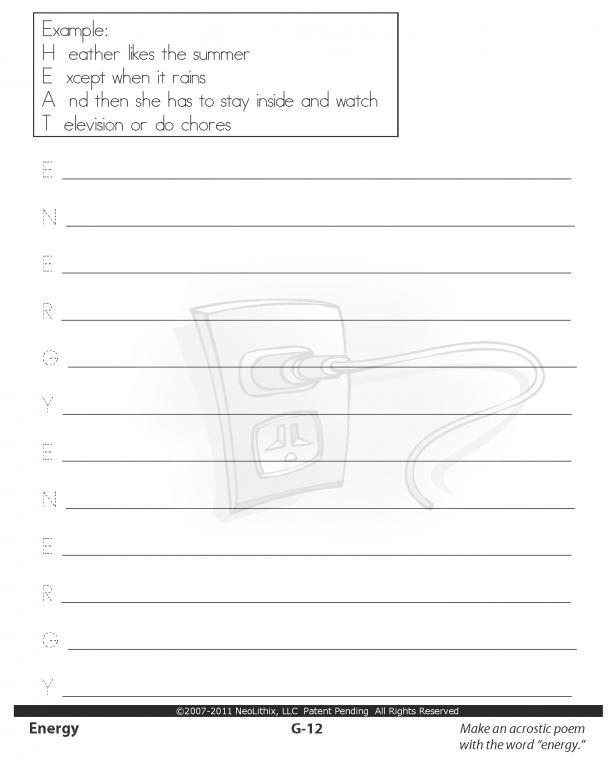 6th grade science worksheets matter